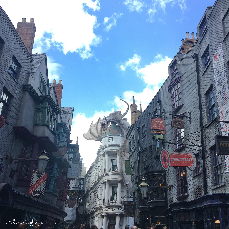 Diagon Ally Universal Orlando