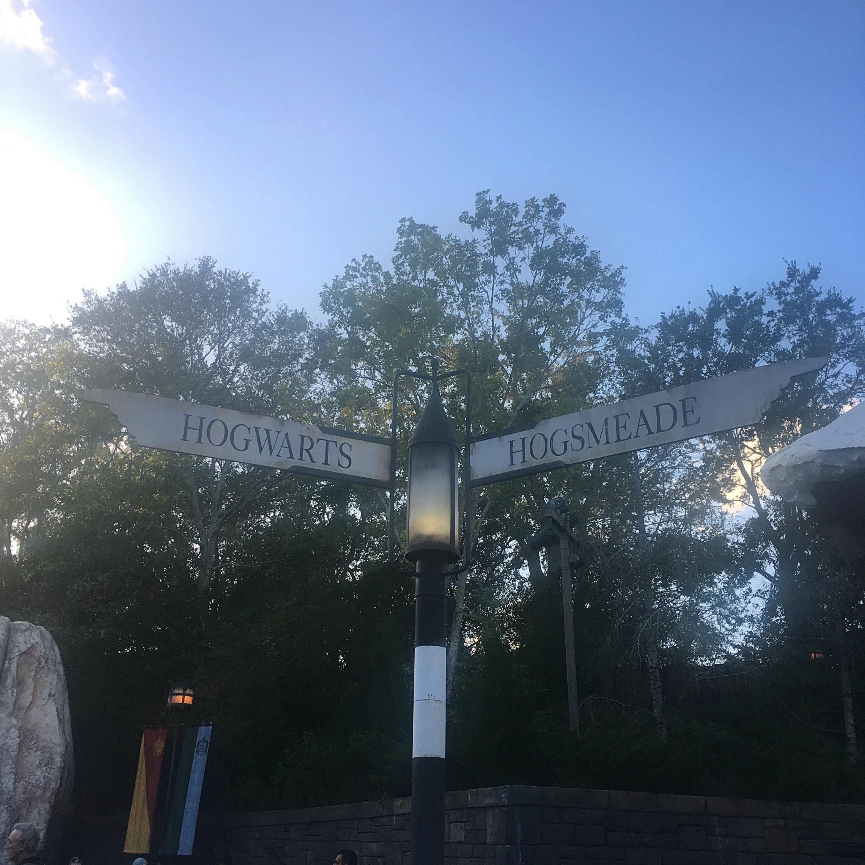Hogwarts Hogsmeade Sign