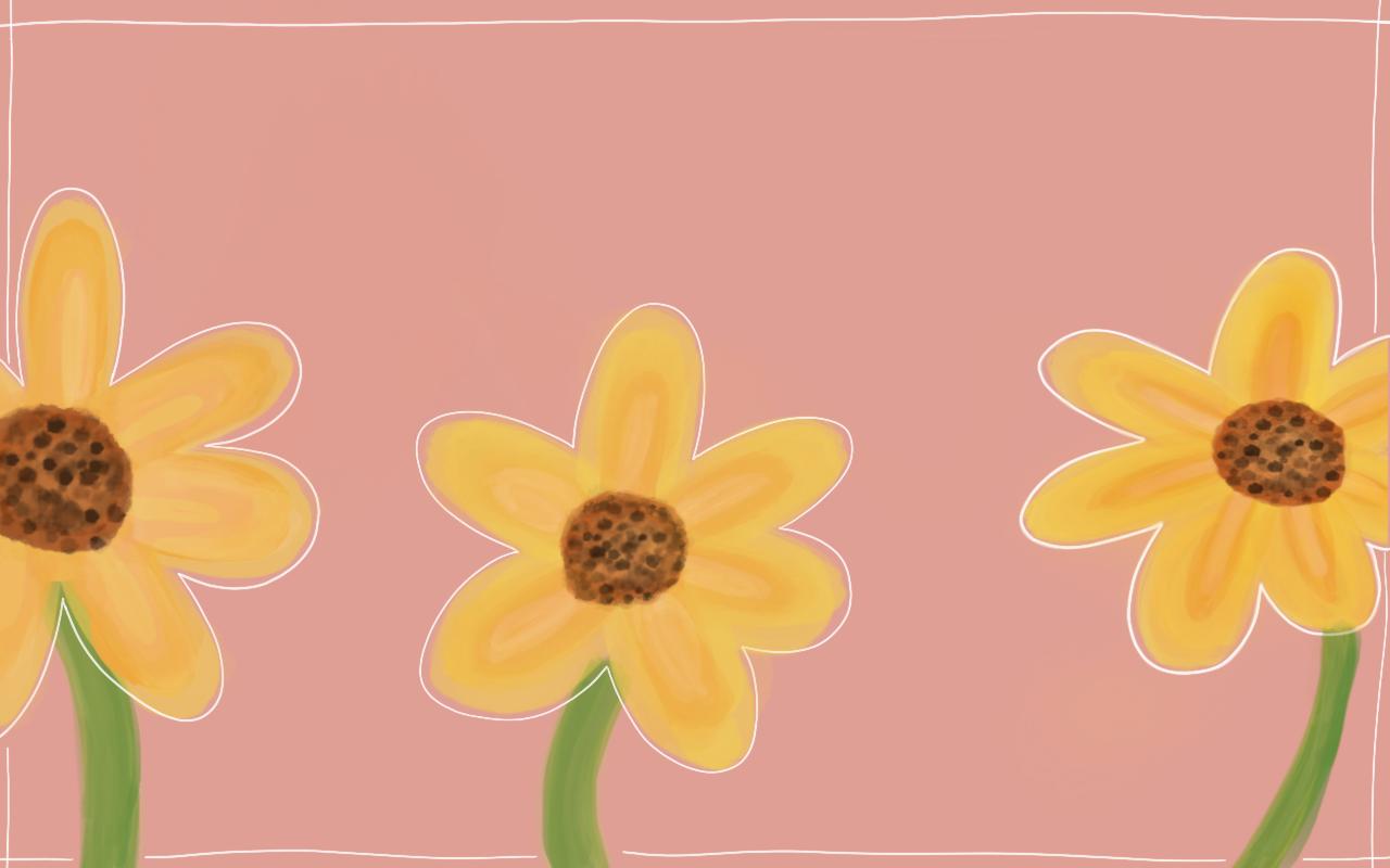 August 2018 Floral Desktop FREE Download
