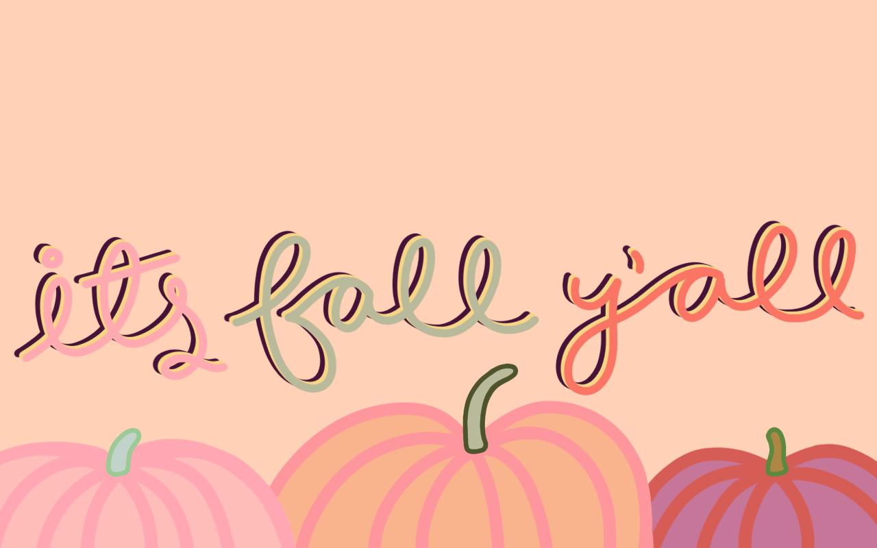 October 2018 Desktop It's Fall Y'all Wallpaper Download